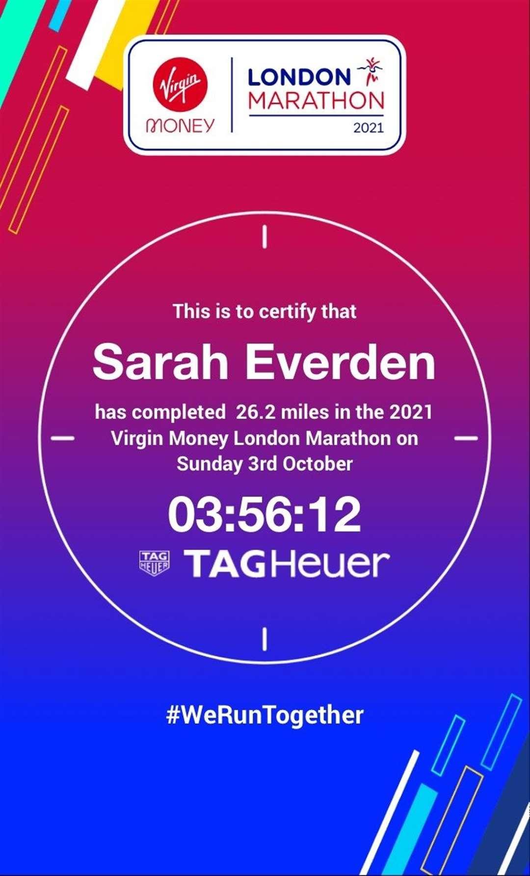Sarah Everden