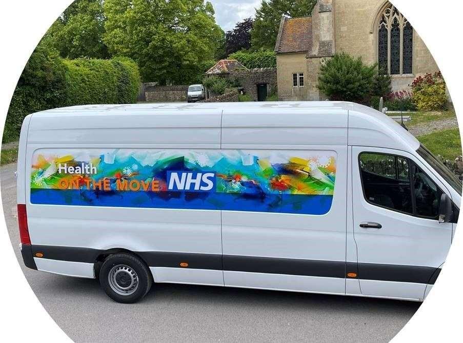 Health on the Move NHS van (48551936)