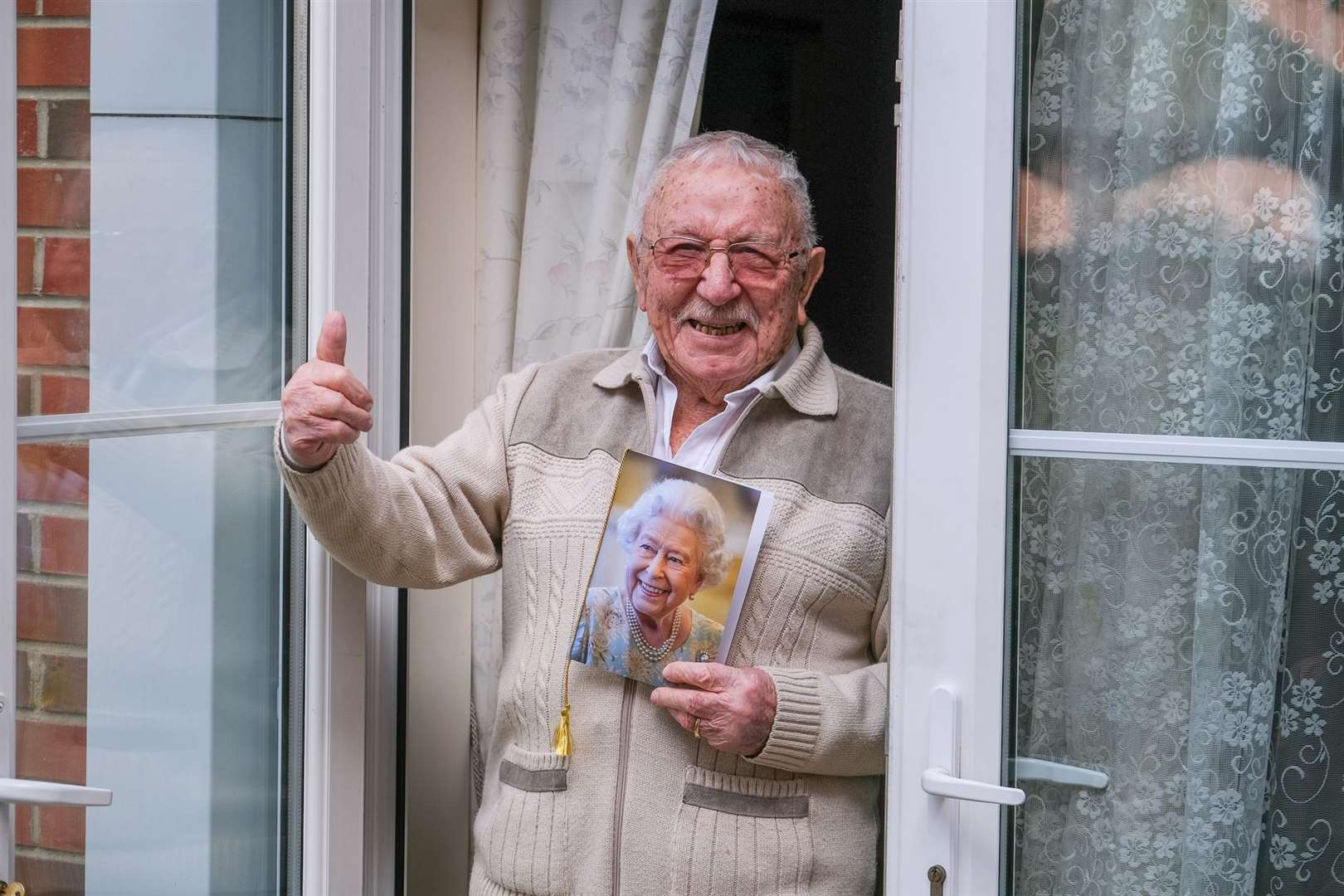 John Quince celebrates turning 100 years old Picture Phil Cannings (46631510)