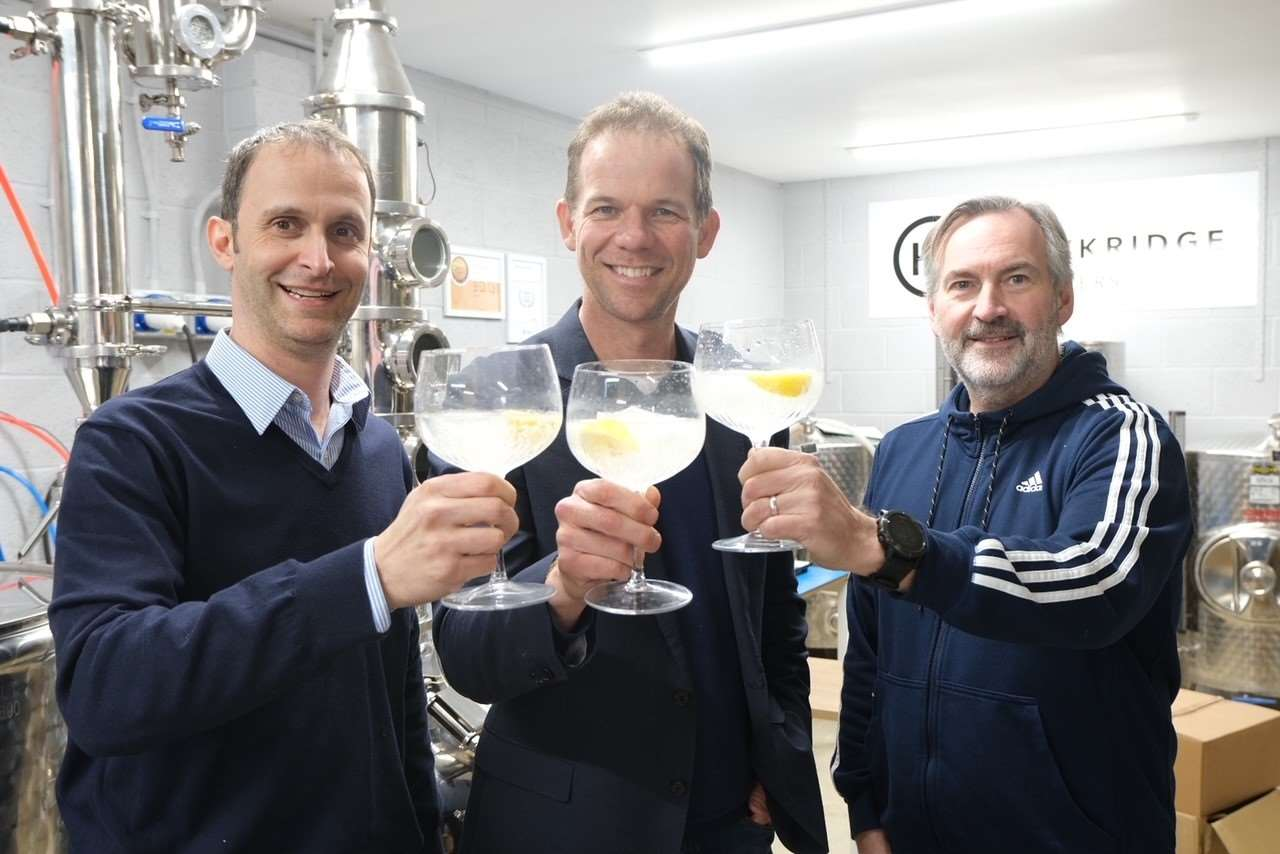 Hawkridge founders (from left to right): James Gurney, Philip Howarth and Robin Horrex.