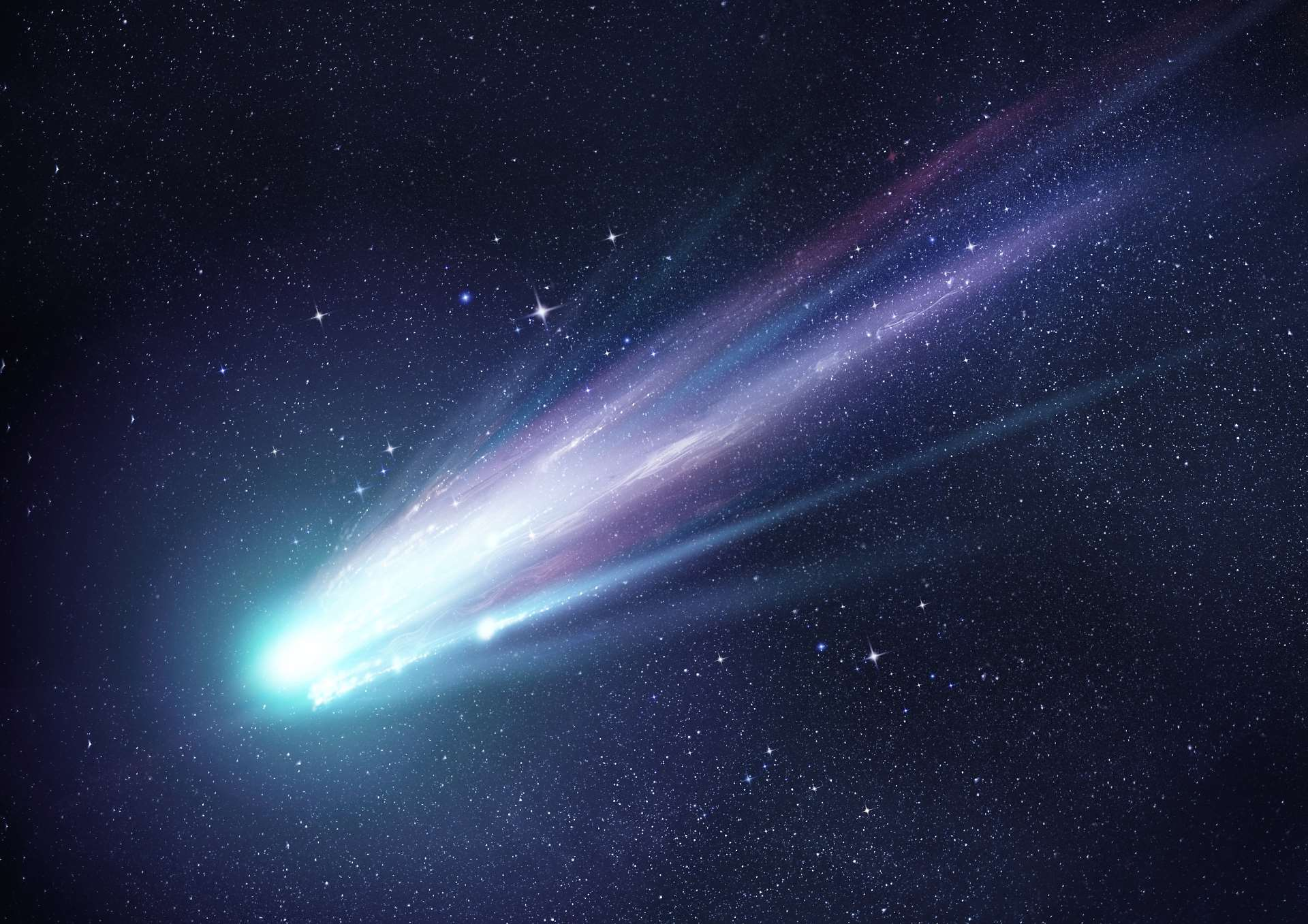 Newly-discovered Comet Swan with 11-million-mile tail shooting towards the Sun and wave at the International Space Station as it passes over the UK