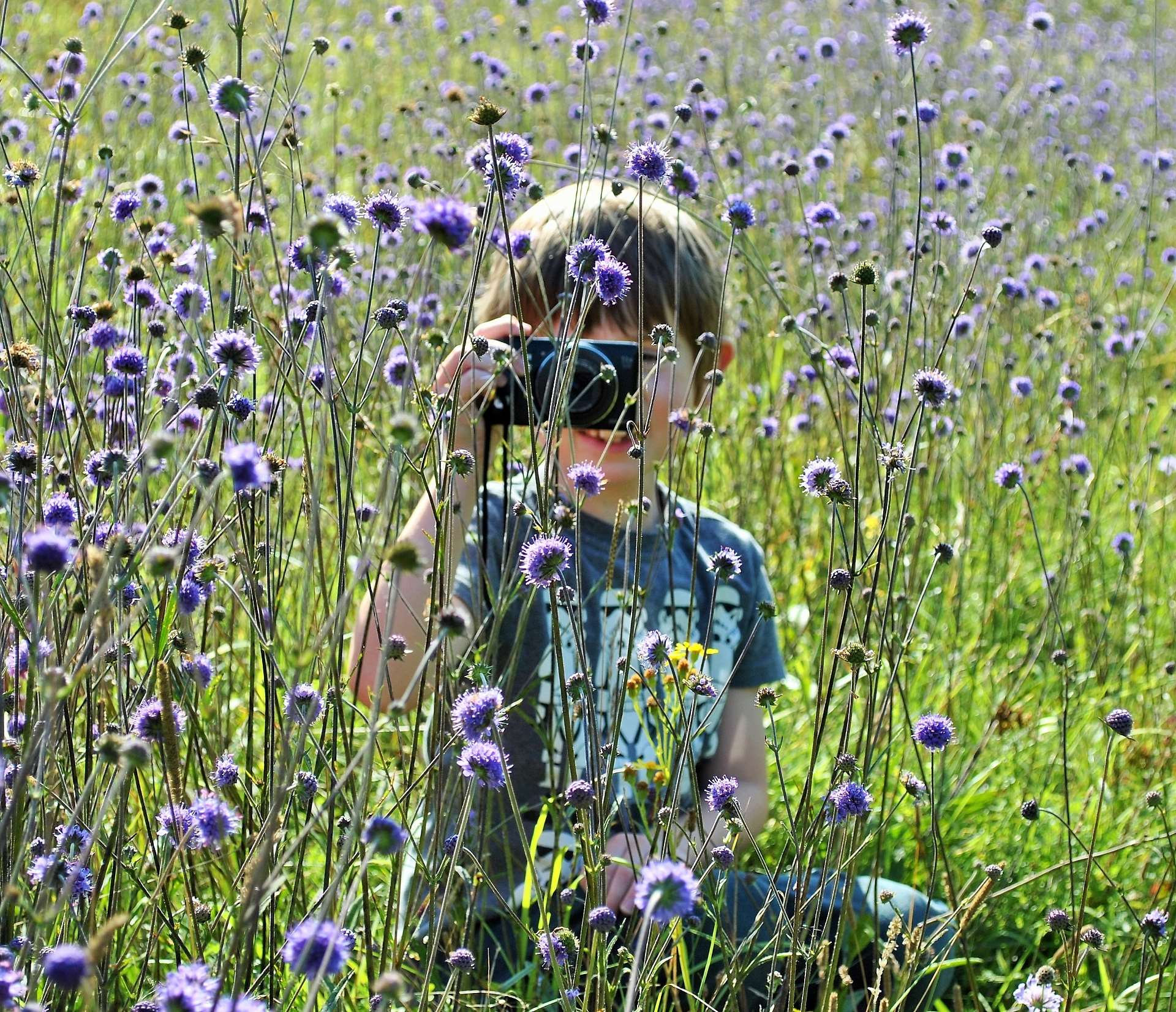 BBOWT has a nature club for all ages Picture: Sue Croxford