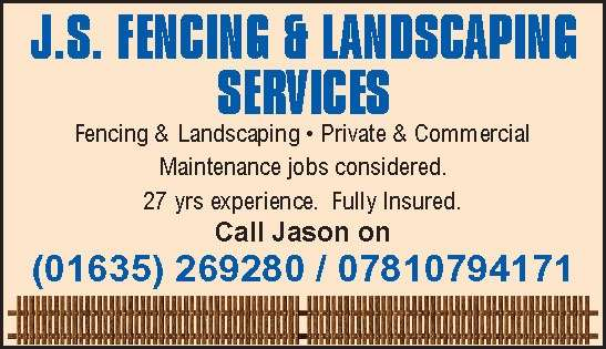 J.S. FENCING & LANDSCAPING SERVICES